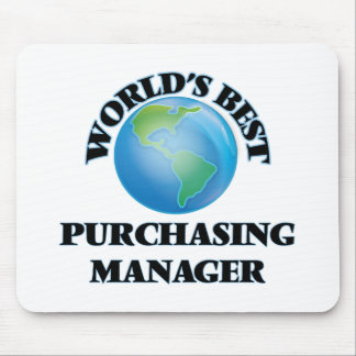 World's Best Purchasing Manager Mouse Pads
