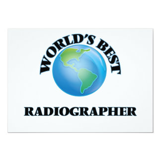 World's Best Radiographer Cards