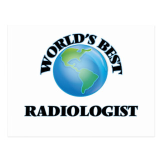 World's Best Radiologist Post Cards