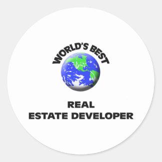 World's Best Real Estate Developer Sticker