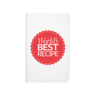 World's Best Recipe Journal