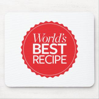 World's Best Recipe Mouse Mat
