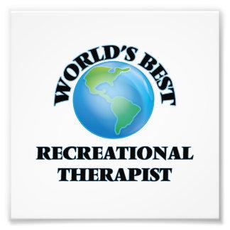 World's Best Recreational Therapist Photograph