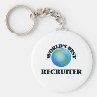 World's Best Recruiter Key Chain