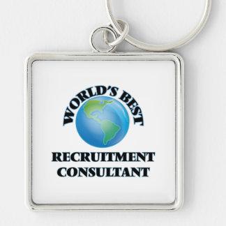 World's Best Recruitment Consultant Key Chain