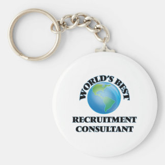 World's Best Recruitment Consultant Keychains