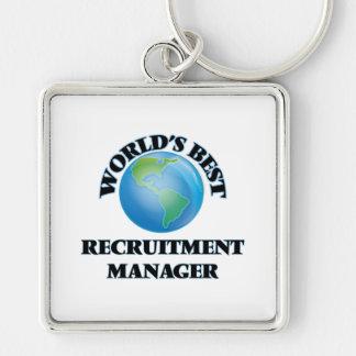 World's Best Recruitment Manager Key Chain