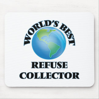 World's Best Refuse Collector Mousepad