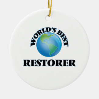 World's Best Restorer Ornament