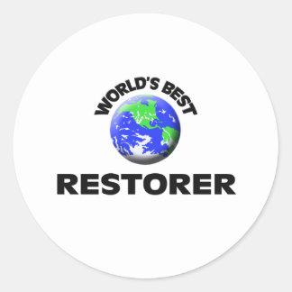 World's Best Restorer Sticker
