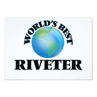 World's Best Riveter Card