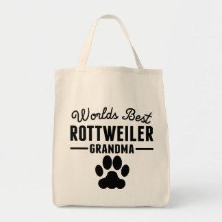 World's Best Rottweiler Grandma Tote Bag