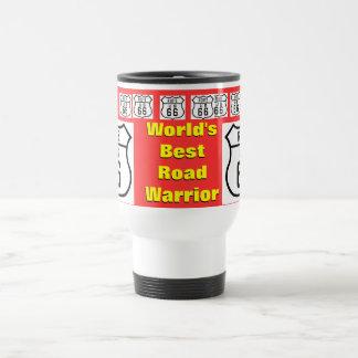 World's Best Route 66 Road Warrier Mugs