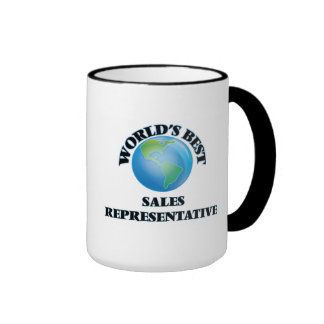 World's Best Sales Representative Mug