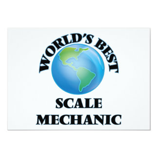World's Best Scale Mechanic Card