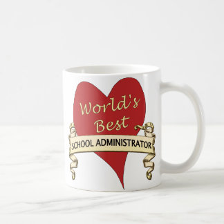 World's Best School Administrator Coffee Mug