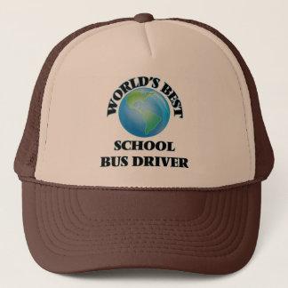 World's Best School Bus Driver Trucker Hat