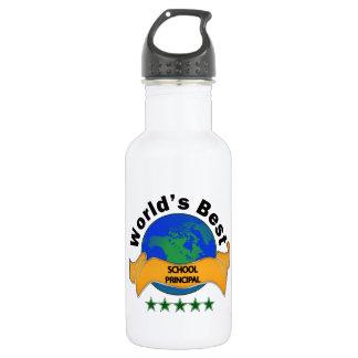 World's Best School Principal 532 Ml Water Bottle
