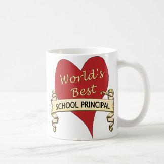 World's Best School Principal Basic White Mug