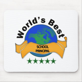 World's Best School Principal Mouse Mat