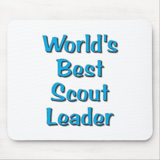 World's best Scout Leader merchandise Mouse Mat