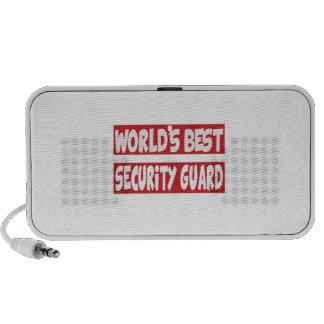 World's Best Security Guard. Mini Speakers