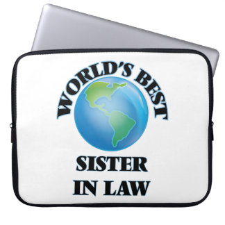 World's Best Sister-in-Law Computer Sleeves