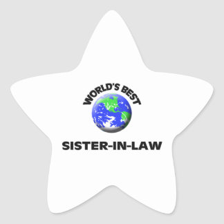 World's Best Sister-In-Law Stickers