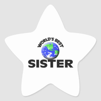 World's Best Sister Stickers