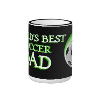 Worlds Best Soccer Dad Ringer Mug