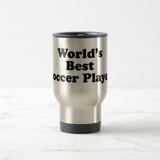World's Best Soccer Player Stainless Steel Travel Mug