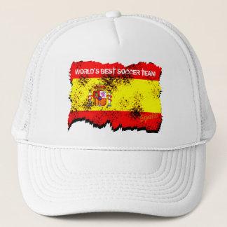 Worlds Best Soccer Team Spain Hat