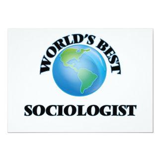 World's Best Sociologist Cards