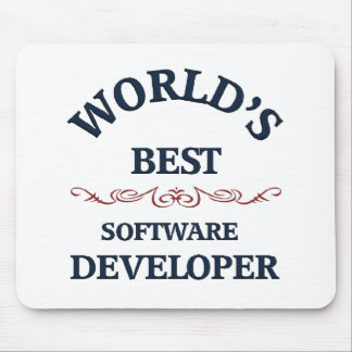 World's best Software Developer Mouse Pad