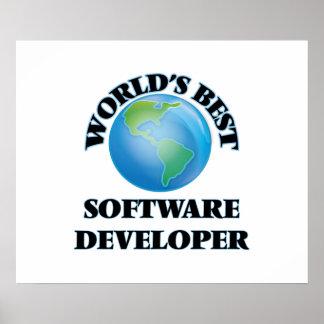 World's Best Software Developer Print
