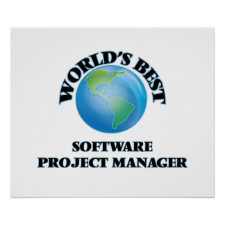 World's Best Software Project Manager Posters
