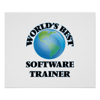 World's Best Software Trainer Poster