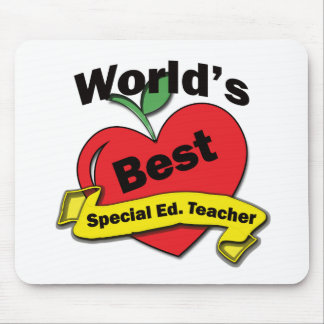 World's Best Special Ed. Teacher Mouse Mat