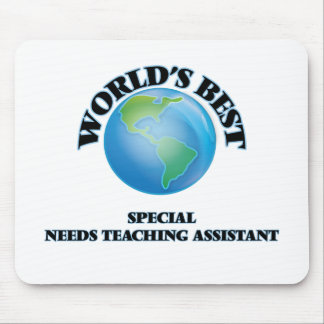 World's Best Special Needs Teaching Assistant Mousepads