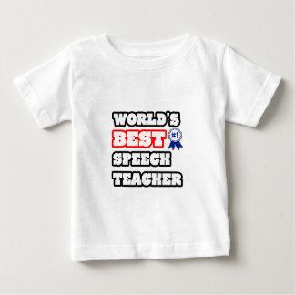 World's Best Speech Teacher Baby T-Shirt