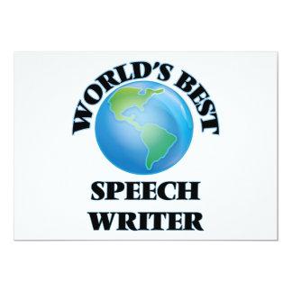 World's Best Speech Writer Card