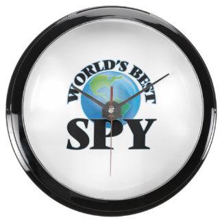 World's Best Spy Fish Tank Clock