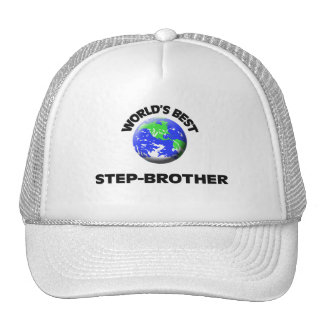 World's Best Step-Brother Hats