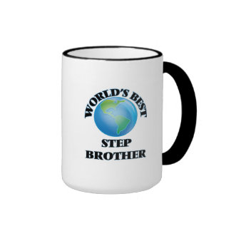 World's Best Step-Brother Mugs