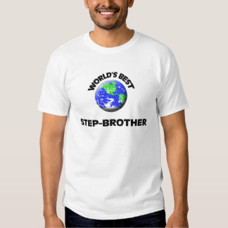 World's Best Step-Brother Tee Shirt
