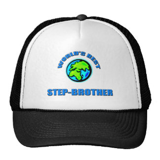 World's Best Step-Brothers Hat