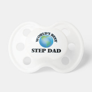 World's Best Step-Dad BooginHead Pacifier