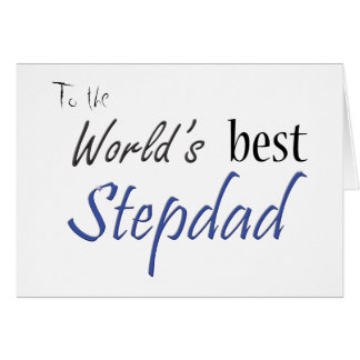 World's Best Stepdad Card
