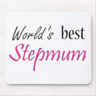 World's Best Stepmum Mouse Pad