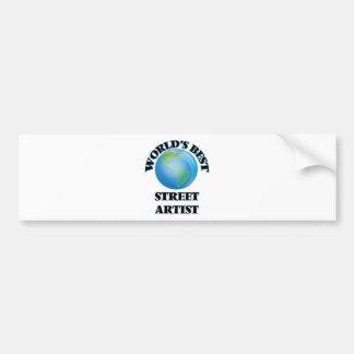 World's Best Street Artist Bumper Sticker